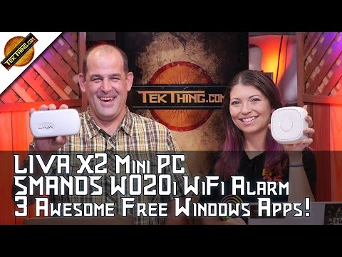 LIVA X2 Mini PC, SMANOS W020i WiFi Alarm, Privacy Badger, Free WiFi Heat Map, Chromecast In Hotels!