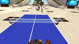 'Racket Fury: Table Tennis VR' Oculus Quest Gameplay