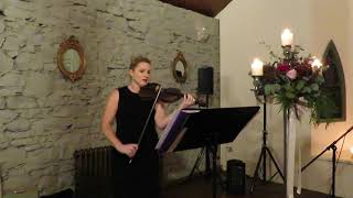 Violin Cover  - Bruno Mars Marry you YouTube Thumbnail