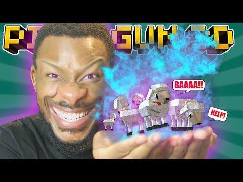 BAAAAAAHH!! MUAHAHA!! L Pixel Gun 3D
