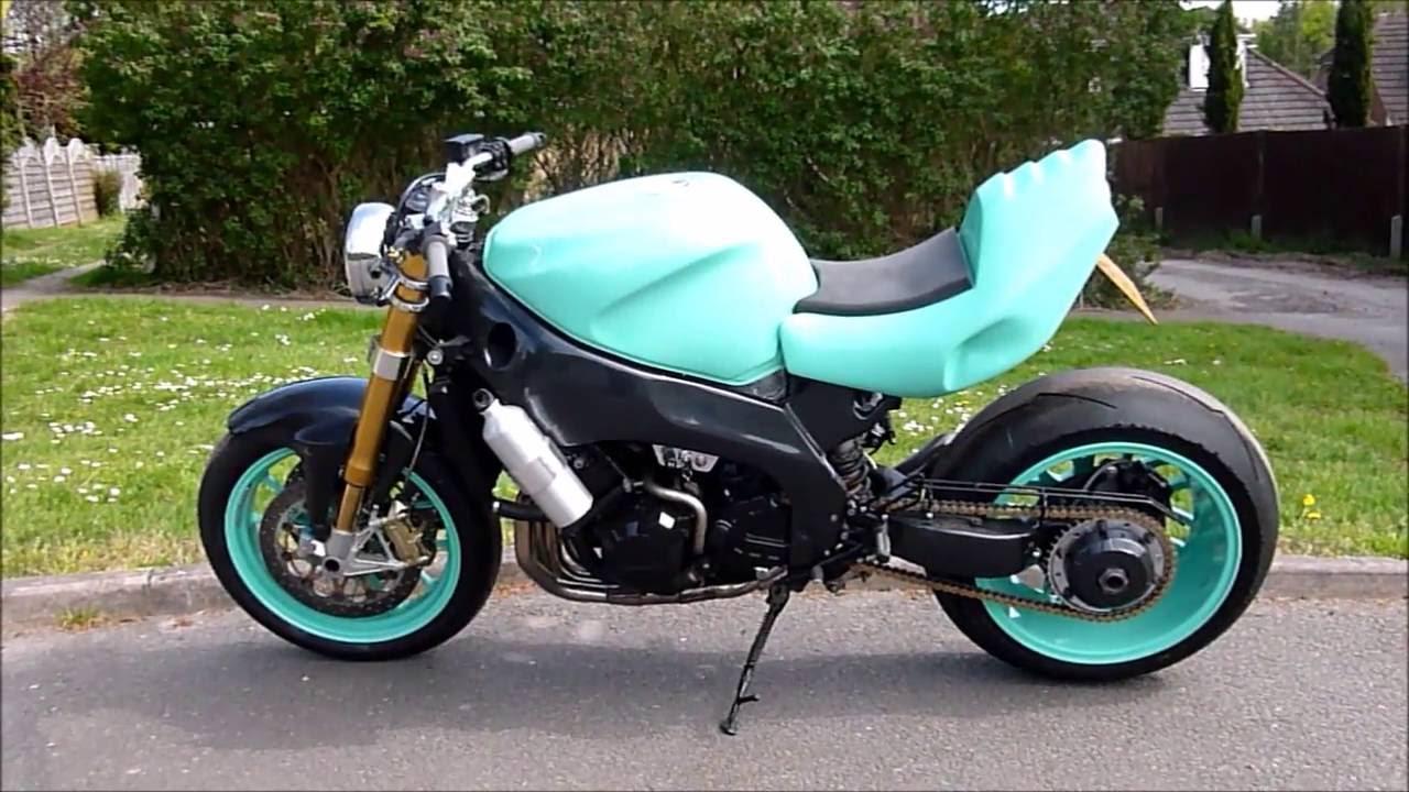 Kawasaki Zzrvs Yamaha R