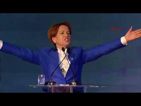 Meral Akşener'in İyi Parti Kuruluşundaki Konuşması (25 Ekim 2017)