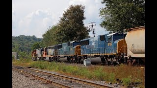 """""""New"""" SD60Ms Delivered to Buffalo and Pittsburgh on RIBT"""