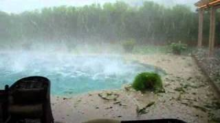 Haelstorm in Krugersdorp