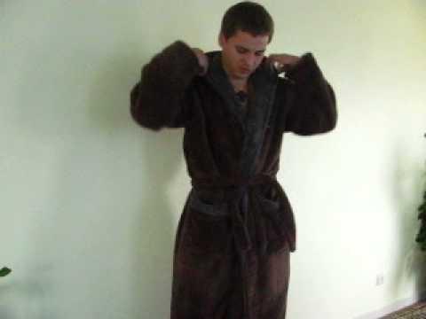 Мужской халат из махры 450гр , материал хлопок  VIP   Новинка 2013 года