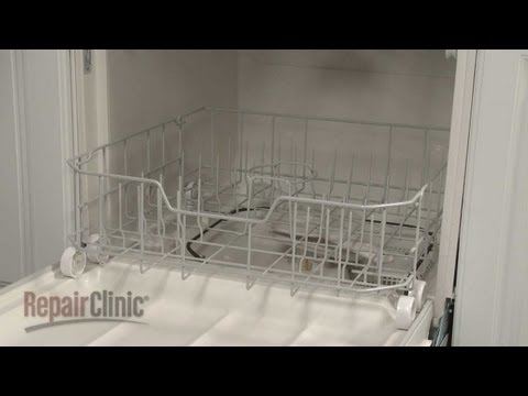 Lower Dish Rack Assembly - GE Dishwasher