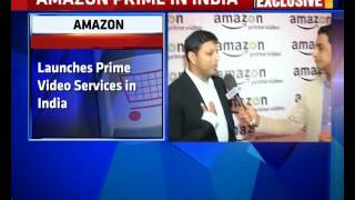 Amazon Launches Prime Video Services In India