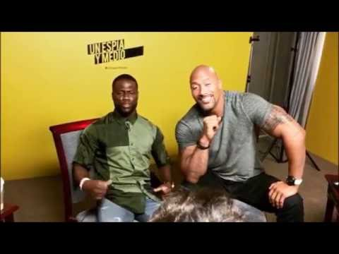 The Rock and Kevin Hart Funny Moments Compilation 2016