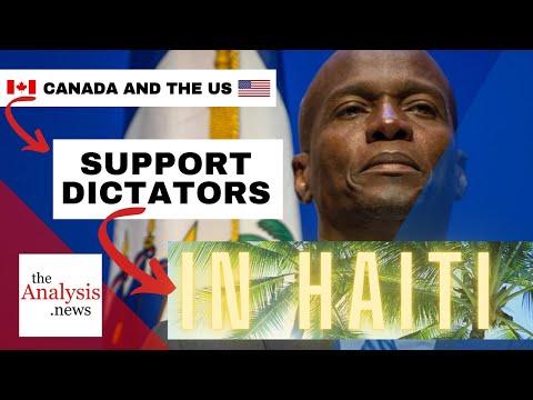 Haiti: Canada & U.S. Support Coups and Dictators