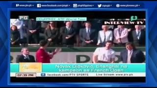 [PTVSports] Mga Sports balita sa labas ng bansa [06|06|16]