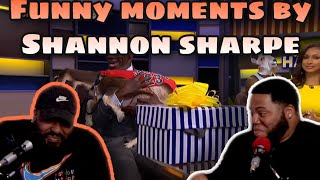 Funniest moments by Shannon Sharpe | Undisputed (Reaction)