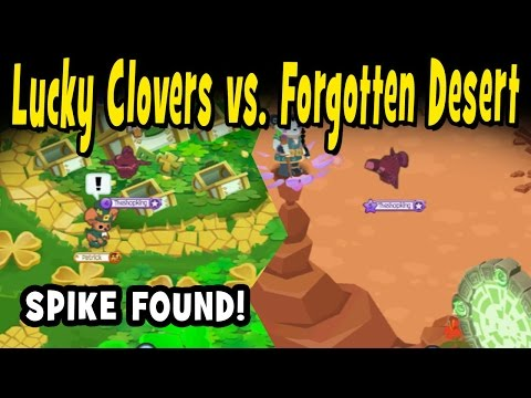 LUCKY CLOVERS VS. FORGOTTEN DESERT (SPEED RUNS + SPIKE FOUND!)