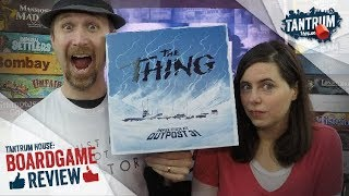 The Thing Infection at Outpost 31 Board Game Review