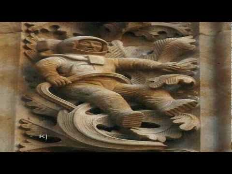 Ancient Astronaut Found On Spanish Cathedral? 2013 1080p Ava