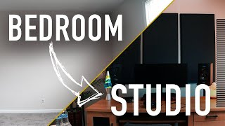 Transform Your BEDROOM Into a STUDIO (On a BUDGET)   ADAM Audio & Westlake Pro