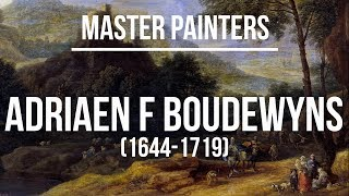 Adriaen Frans Boudewyns (1644-1719) A collection of paintings 2K Ultra HD Silent Slideshow