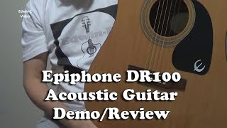 Epiphone DR-100 Acoustic Guitar Demo/Review