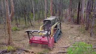 Fecon Hydraulic Bull Hog Mulchers for Skid Steers Overview