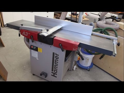 Hammer A3 41 Jointer Planer Review