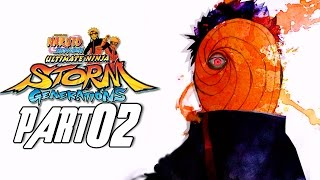 Naruto Shippuden: Ultimate Ninja Storm Generations - Walkthrough Part 2, Gameplay Xbox 360