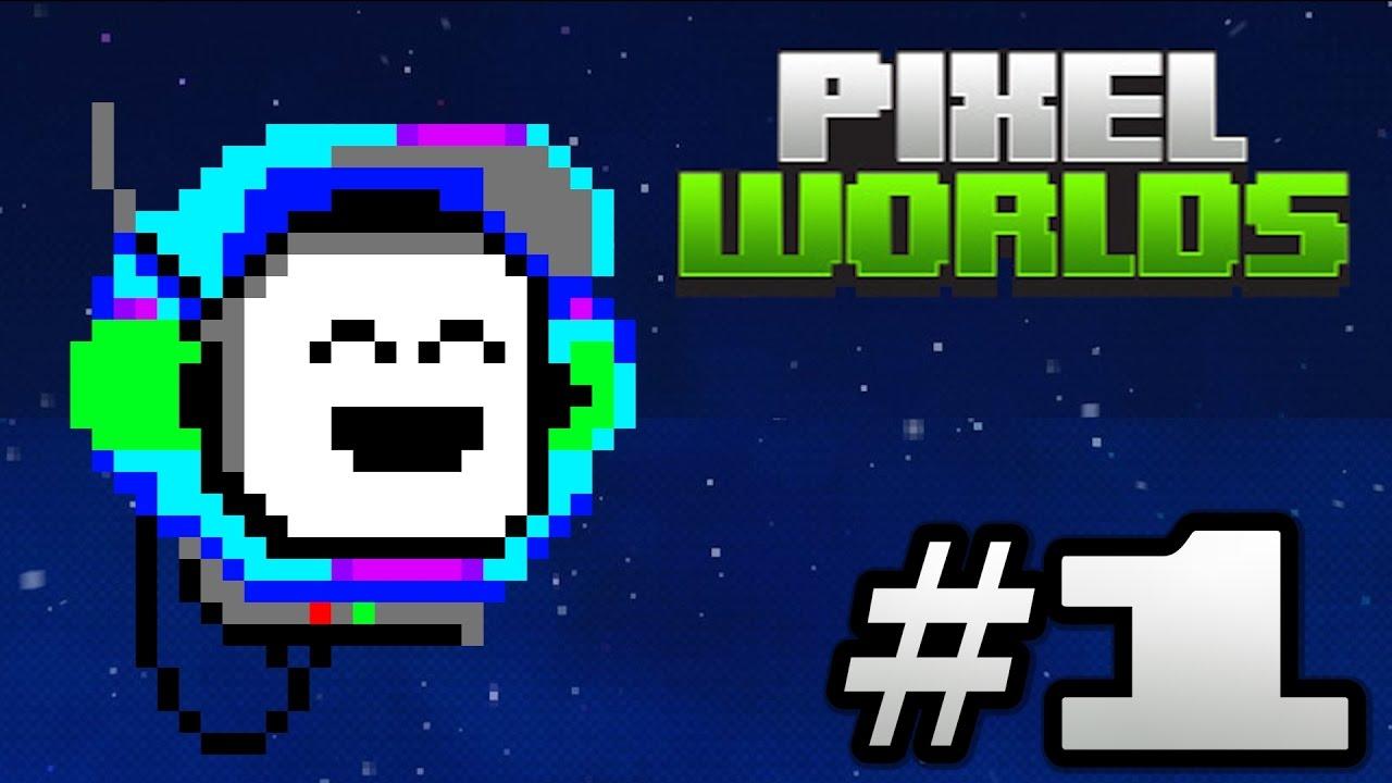 """Pixel Worlds """"Pixel Art Series"""" - Tutorial Robot"""