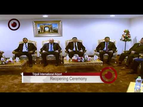 Tripoli International Airport, Reopening Ceremony