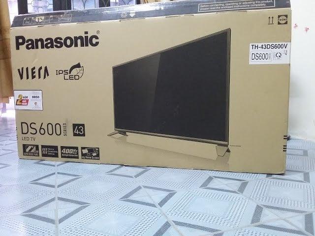 H??ng d?n l?p ??t tivi smart 43ds600v panasonic - cài ??t và thi?t l?p wifi cách xem youtube