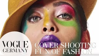 """Hinter den Kulissen unseres """"Fun of Fashion"""" Cover-Shootings I VOGUE Behind the Scenes"""