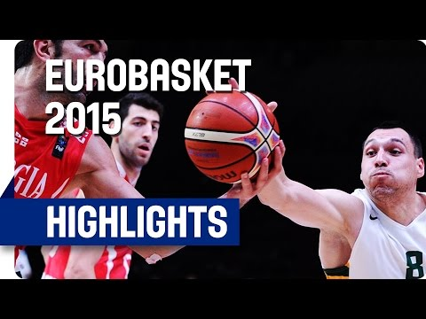 Lithuania v Georgia - Round of 16 - Game Highlights - EuroBasket 2015