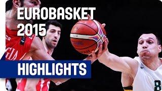 Lithuania v Georgia - Round of 16 - Game Highlights - EuroBasket 2015