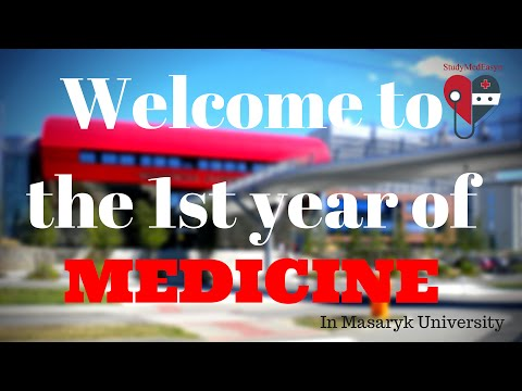 Welcome to the first year of Medicine in Masaryk University