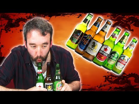 Irish People Taste Test Asian Beers
