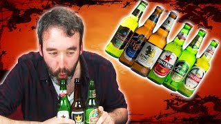 Irish People Taste Test Asian Beers