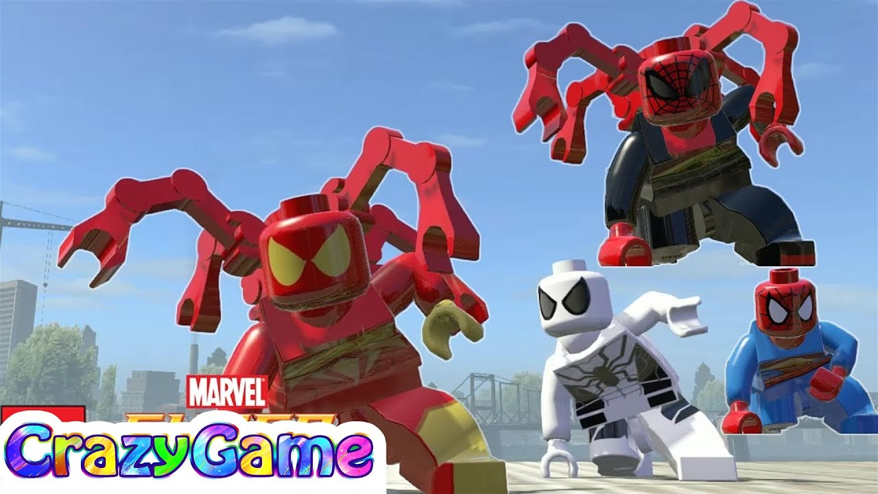 LEGO Marvel Super Heroes - All Spider-Man Characters ...