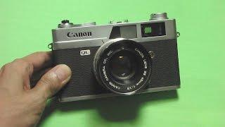 キャノン キャノネットQL19の使い方 CANON CANONET QL19 How to use 1960s Rangefinder camera