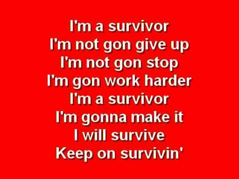 Survivor - Destiny's Child with Lyrics