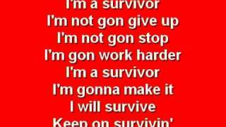Survivor - Destiny's Child with Lyrics thumbnail