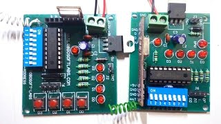 Learn About RF module And ht-12D & ht-12E working Hindi tutorial