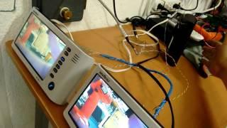dos monitores iv 7000 hf