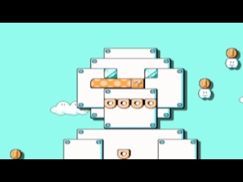 Four Seasons, Four 1Ups by Peer-IGN ~SUPER MARIO MAKER~ NO COMMENTARY