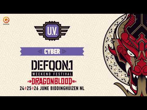 The colors of Defqon.1 2016 | UV mix by Cyber