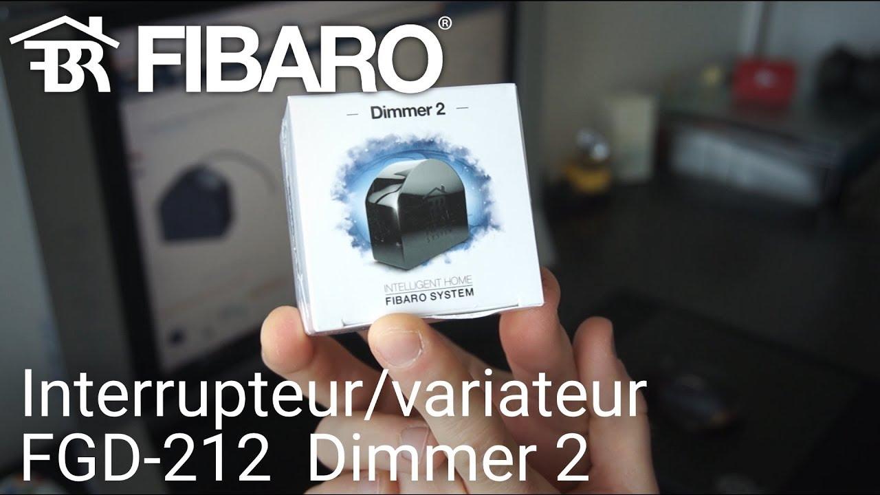 l 39 interrupteur variateur de lumi re fibaro fgd 212 dimmer 2 youtube. Black Bedroom Furniture Sets. Home Design Ideas
