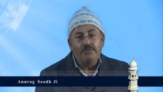 Anurag Sood at Ahmadiyya Jalsa Qadian 2012