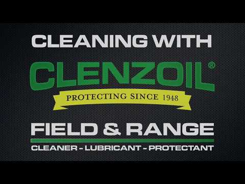 Cleaning With Clenzoil: Semi Automatic Handgun
