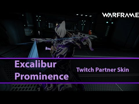 Warframe: Excalibur Prominence[FashionForward]