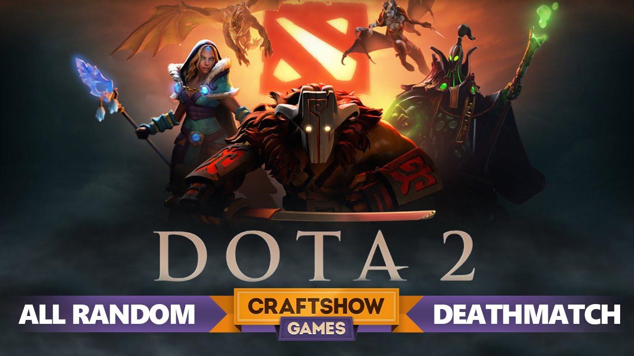 Dota 2 All Random Deathmatch YouTube