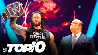Most shocking SmackDown moments of 2020: WWE Top 10, Dec. 27, 2020