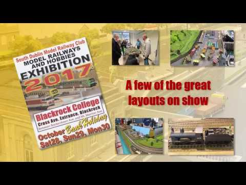 SOUTH DUBLIN MODEL RAILWAY CLUB - Exhibition 28 Oct 2017