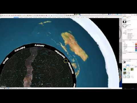 The Astro-Plate, Luminaries and Ecliptic in the Flat Earth Model. thumbnail