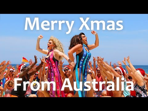100 Degrees - Dannii + Kylie Minogue Flash Dance - Bondi Beach Sydney Australia